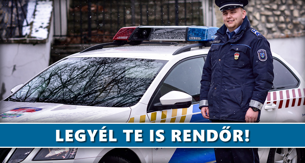 Legyél te is rendőr!
