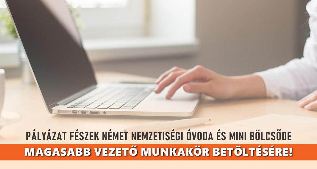Pályázat a Fészek N.N. Óvoda és Mini Bölcsőde magasabb vezető munkakör betöltésére